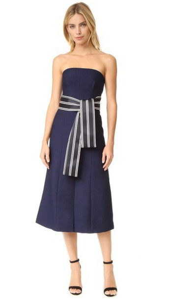 C/Meo Collective Right Hand Dress - Navy