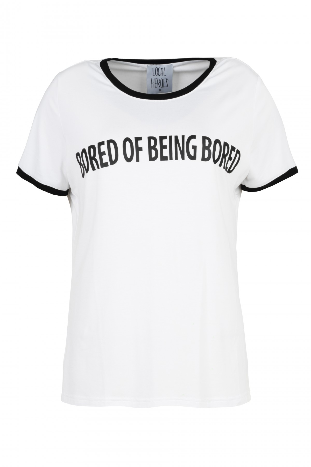Bored of being bored ringer tee