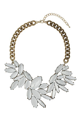 Flower Stone Collar - Jewellery - Bags & Accessories