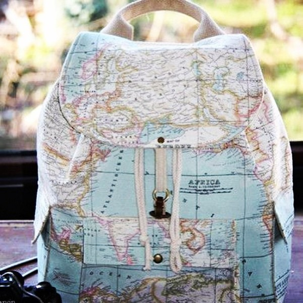 World map prints backpackatlas large by leyyabags on etsy bag gumiabroncs Image collections