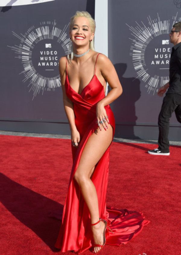 Aliexpresscom Buy 2014 VMA Sexy Red Taffeta Backless