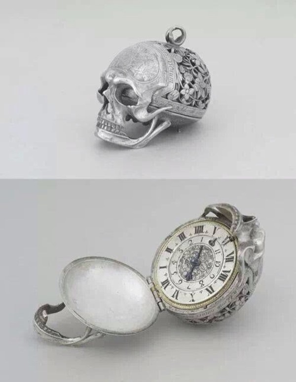 jewels skull watch silver jewelry
