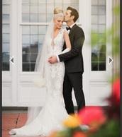 dress,white dress,wedding dress,lace wedding dress,white wedding dress,lace cutout,long sleeve dress,full long sleeves wedding dresses,lace mermaid wedding dress,mermaid wedding dress,2016 wedding dresses,edmonton
