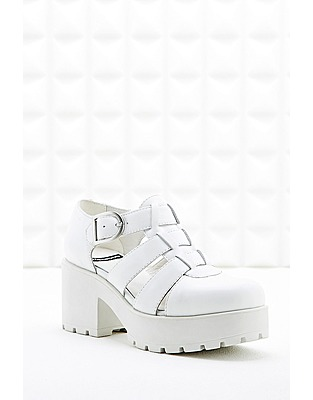 ASOS Fashion Finder | Vagabond Dioon Closed-Toe Sandals in White