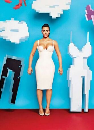 kim kardashian bodycon dress skirt top