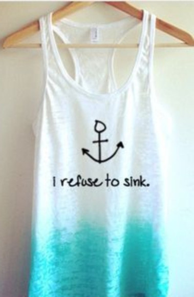 anchor ombre