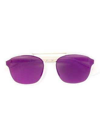 metal women sunglasses nude
