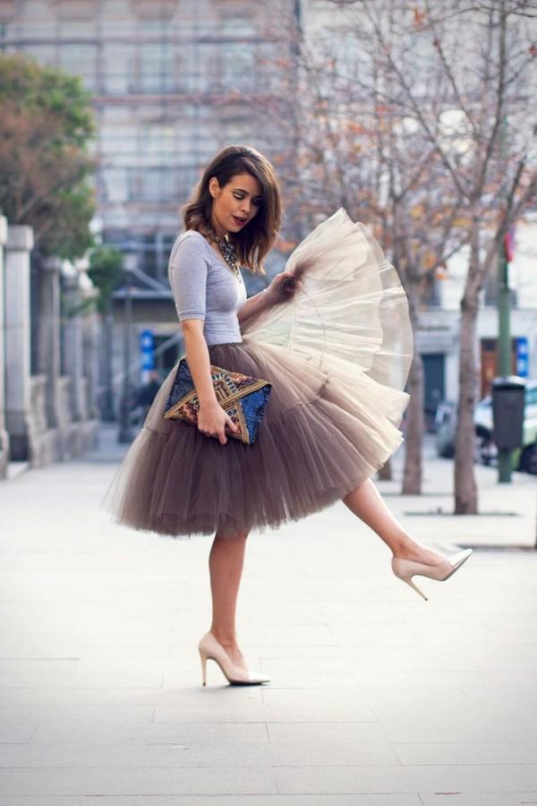 skirt tulle skirt flowy