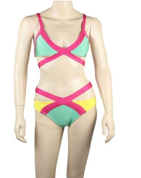 BANDAGE Provocateur Cutout Bandeau Bikini – Glamzelle