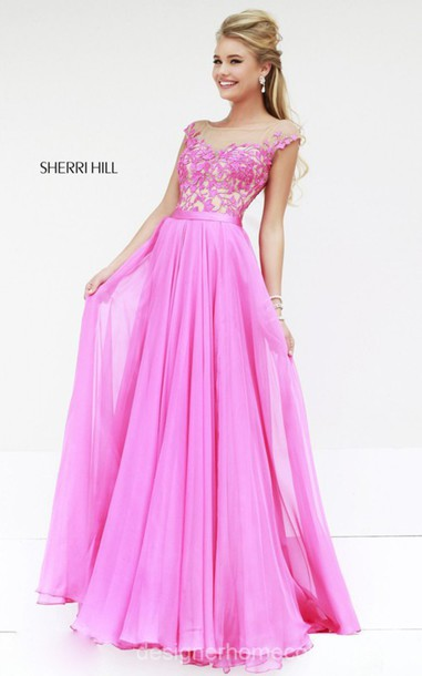 sherri hill 11151 homecoming dress pink homecoming dress