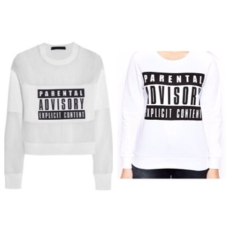 shirt parental advisory explicit content alexander wang top fashion blogger fashion blogger new york city nycfashion fashionista talk plus size curvy asos