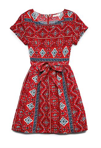 Retro Floral Dress (Kids) | FOREVER21 girls - 2000065266