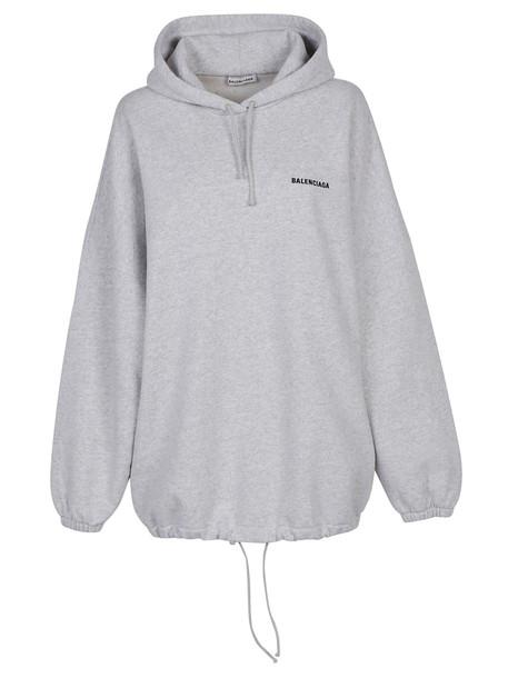 hoodie pale grey heather grey sweater