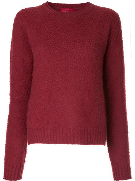 The Gigi sweater women wool red