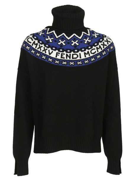 Fendi sweater embroidered