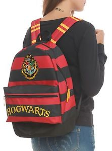 HARRY POTTER HOGWARTS SCHOOL CREST COMPUTER LAPTOP PADDED BACKPACK BOOKBAG NEW