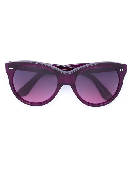 OLIVER GOLDSMITH sunglasses purple pink