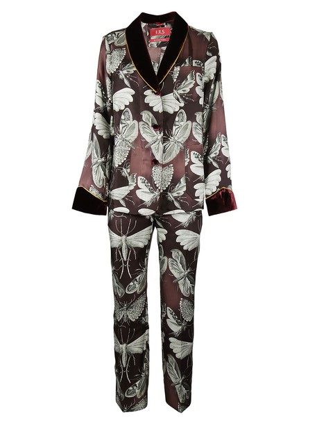 FOR RESTLESS SLEEPERS jumpsuit cropped jumpsuit cropped print multicolor