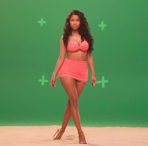 Minaj High Waisted Bikini