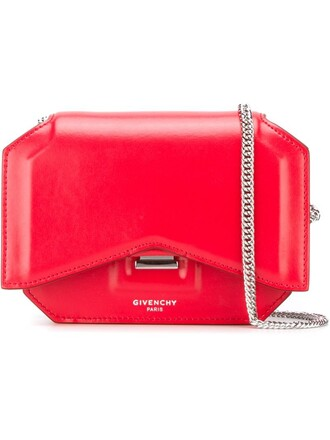 bow mini bag crossbody bag red