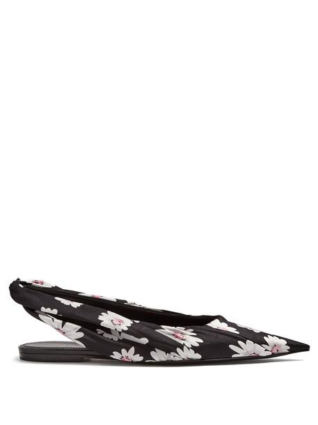Balenciaga black shoes