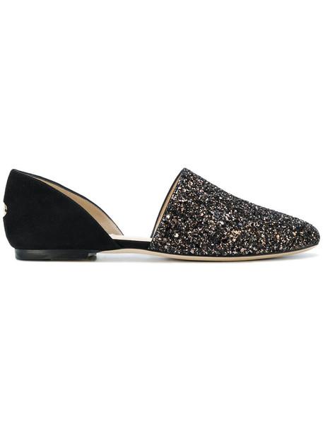 women shoes leather black