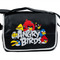 Bags,angry birds in black messenger bag