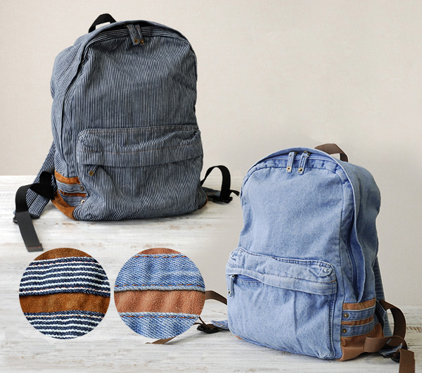 Unisex Vintage Denim Backpack Leisure Travel Campus Bookbag Satchel Rucksack Bag