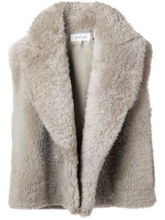 vest nude jacket