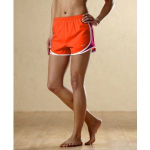 Nike Tempo Short - Women's - Running - Clothing - Team Orange/Sport Fuschia/White/Matte Silver