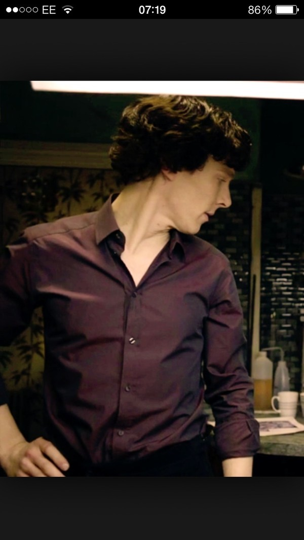shirt purple benedict sherlock purple shirt purple sex shirt sherlocks shirt