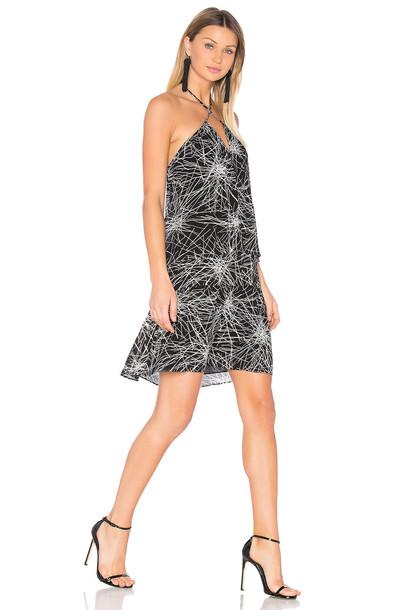 Diane Von Furstenberg dress white black