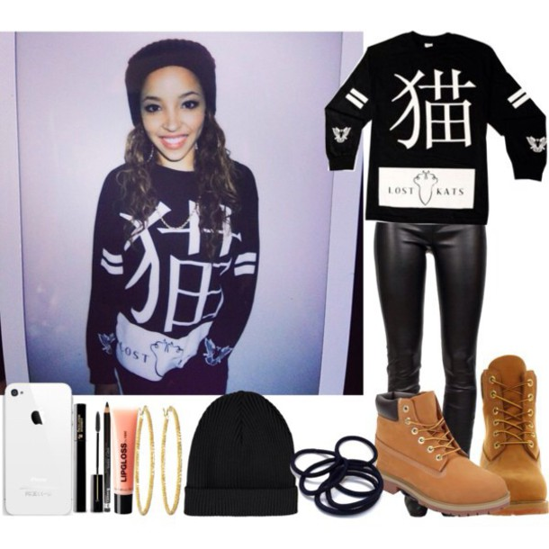 sweater tinashe sweater