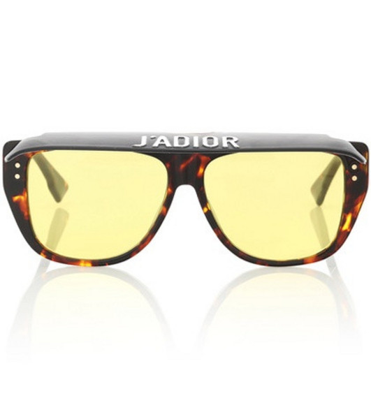 Dior Sunglasses DiorClub2 sunglasses in yellow