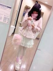 bag,kawaii,girly,fluffy,purse,pastel pink,lolita,japanese fashion,fairy kei,pastel goth,japan,anime