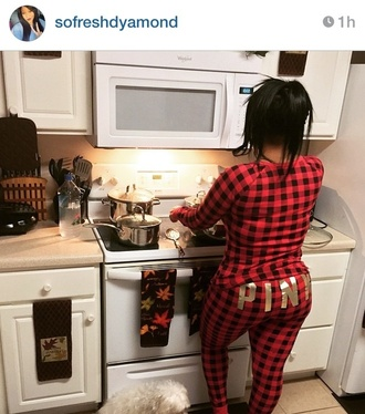 victoria's secret pajamas christmas instagram pink by victorias secret coat