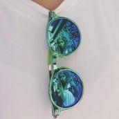 sunglasses,blue,blue green,blue-green,blue green sunglasses,green,green sunglasses,blue sunglasses,woep