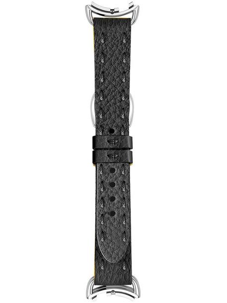 Fendi - watch strap - women - Calf Leather - One Size, Black