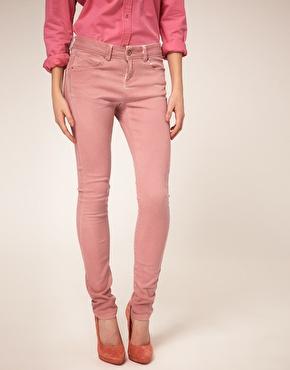 ASOS Skinny Jeans in Soft Rose #4 at ASOS