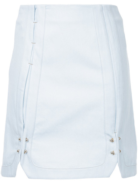 Manning Cartell skirt women cotton blue