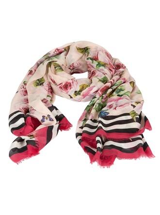 scarf floral multicolor