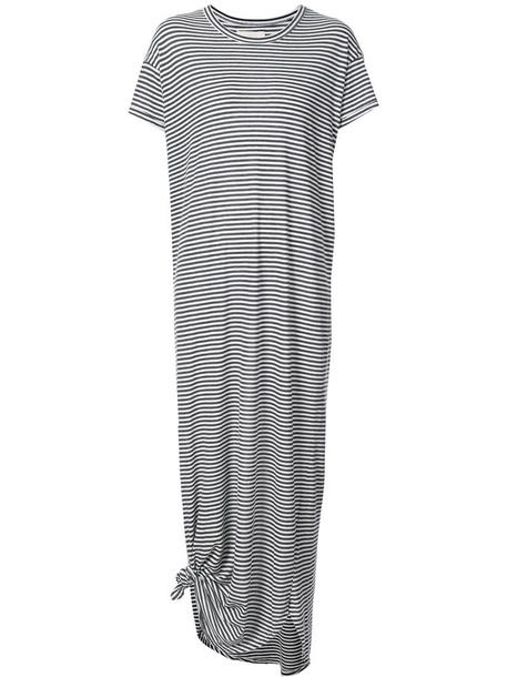 The Great dress shirt dress t-shirt dress women cotton grey
