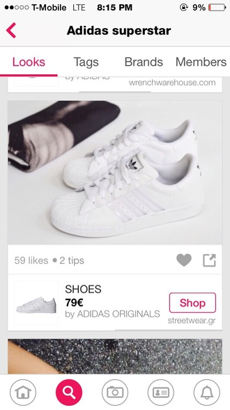 shoes adidas white superstar