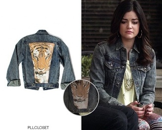 jacket pretty little liars jeans tiger print printed leggings cool hipster leggings aria montgomery
