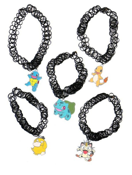 jewels charmander necklace