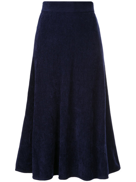 Estnation skirt women blue