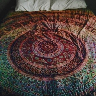 home accessory bedding indie bedroom tumblr bedroom circle boho