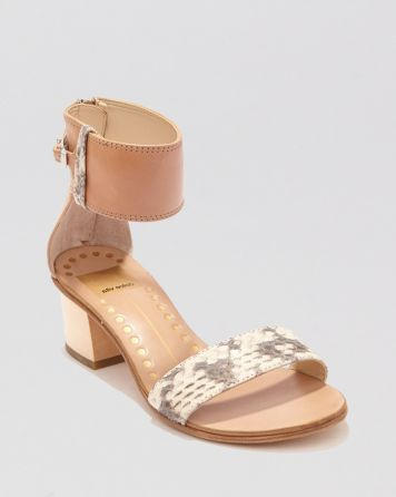 Dolce Vita Open Toe Sandals - Foxie Block Heel | Bloomingdale's