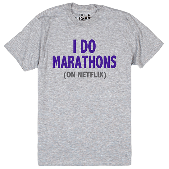 I Do Marathons (on Netflix) Long Sleeve