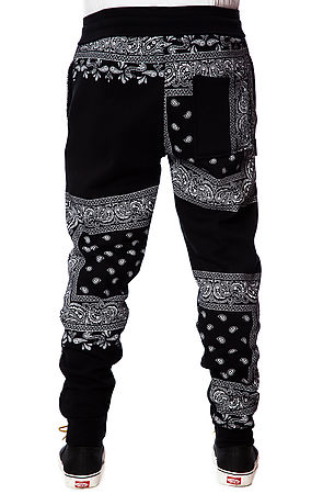 LATHC Pants Bandana Squares Sweatpants Joggers in Black -  Karmaloop.com